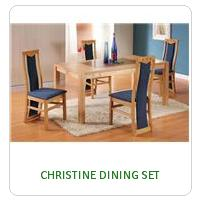 CHRISTINE DINING SET